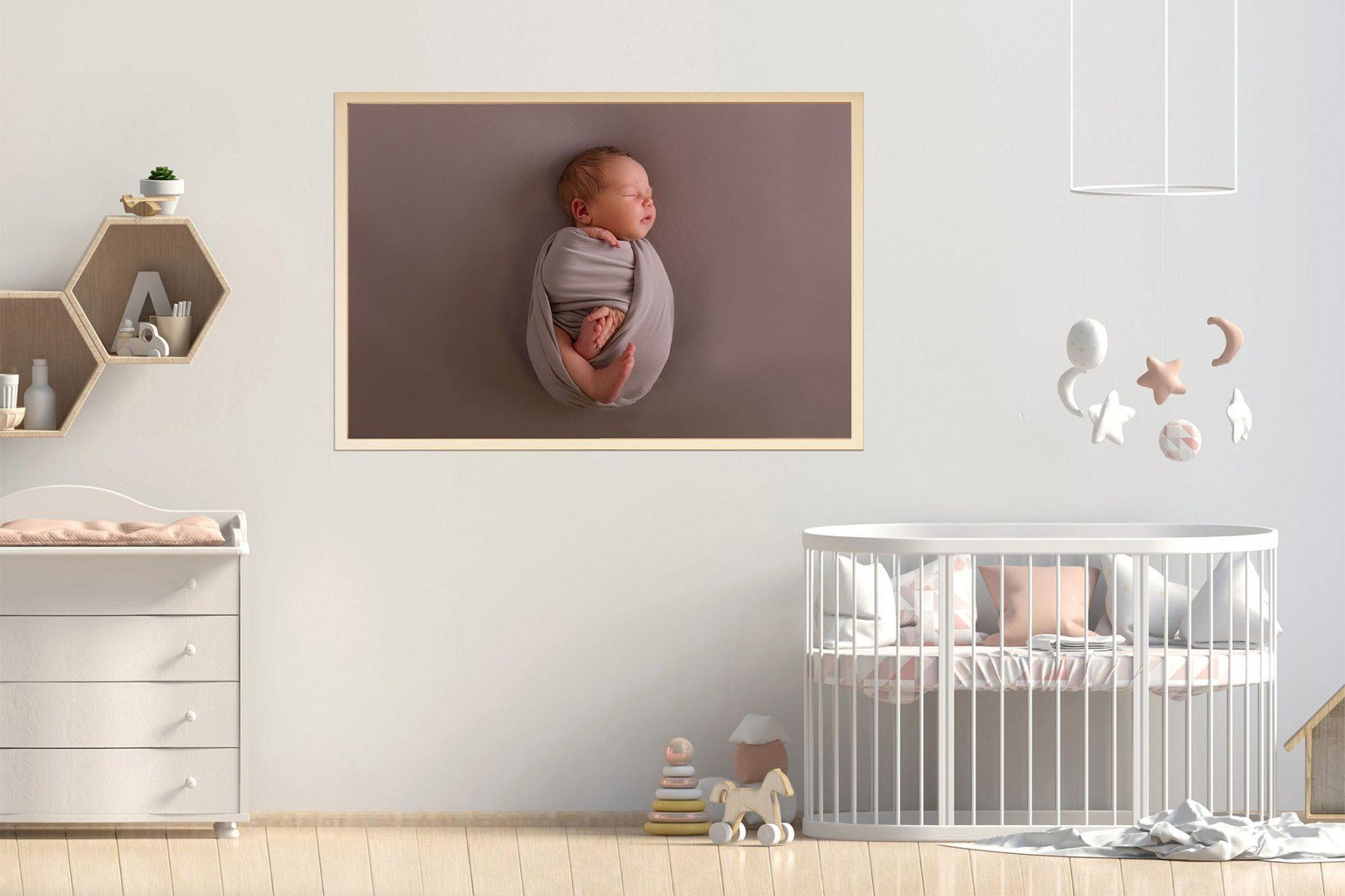 Wandbild Baby